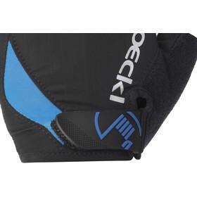 Roeckl Baku Cykelhandsker, black/blue